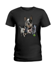 GAEA - Australian Cattle Dog Runnig 1403 Ladies T-Shirt thumbnail