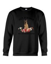 German Shepherd Love Woman 2104 Crewneck Sweatshirt thumbnail