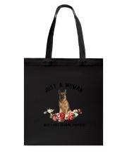 German Shepherd Love Woman 2104 Tote Bag thumbnail