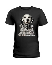 Dalmatian Awesome 0506 Ladies T-Shirt thumbnail