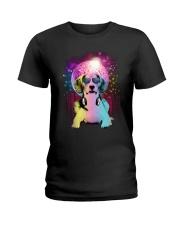 GAEA - Beagle Disco 0904 Ladies T-Shirt thumbnail