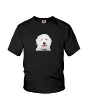 Old English Sheepdog Human Dad 0206 Youth T-Shirt thumbnail