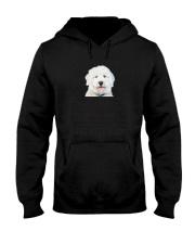 Old English Sheepdog Human Dad 0206 Hooded Sweatshirt thumbnail