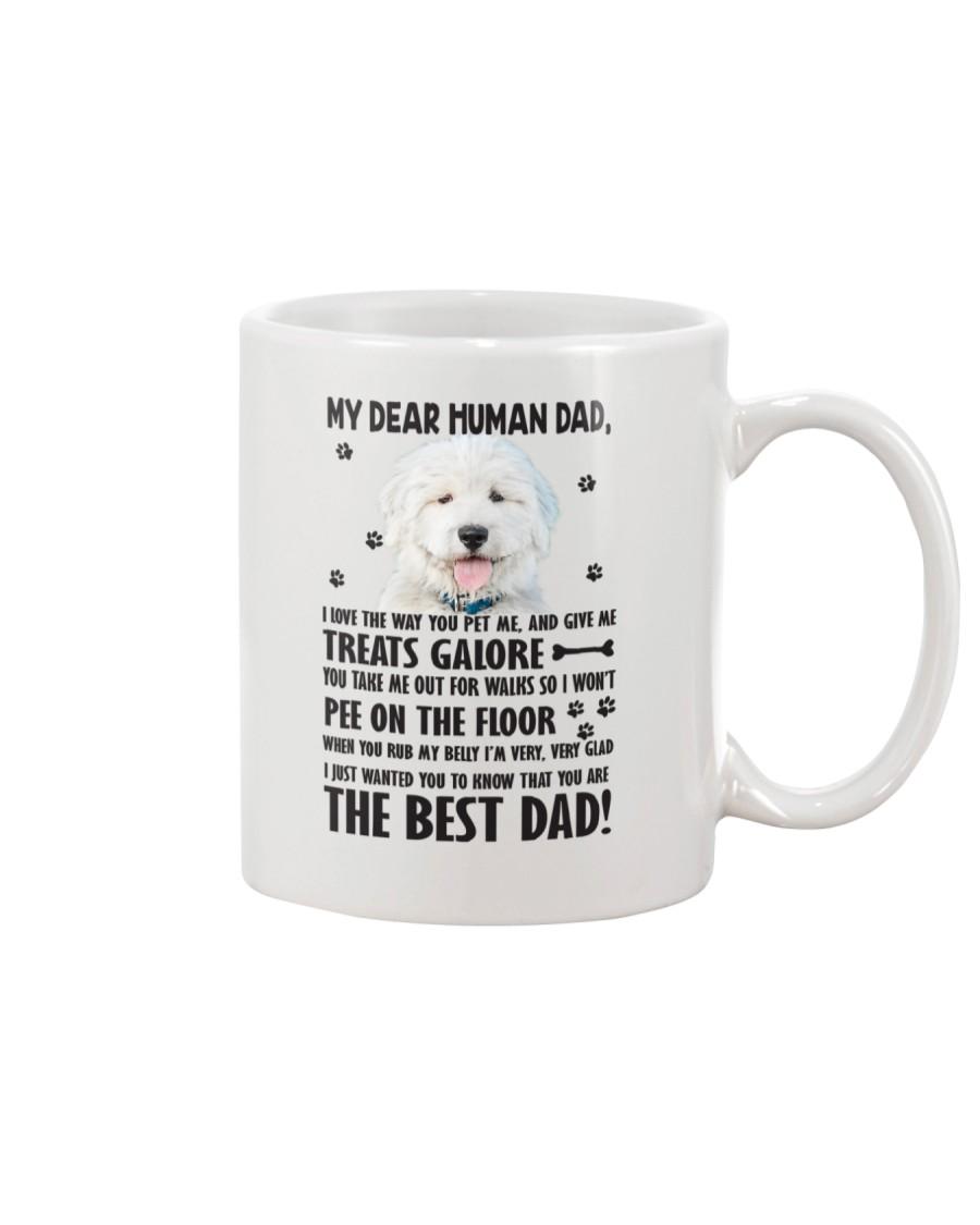 Old English Sheepdog Human Dad 0206 Mug