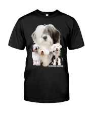 Old English Sheepdog Awesome Classic T-Shirt front