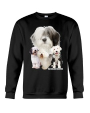 Old English Sheepdog Awesome Crewneck Sweatshirt thumbnail