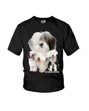 Old English Sheepdog Awesome Youth T-Shirt thumbnail