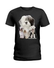 Old English Sheepdog Awesome Ladies T-Shirt thumbnail