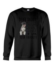 Standard Schnauzer Daddy Favorite 2105 Crewneck Sweatshirt thumbnail