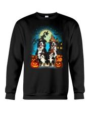 Gaea - Bernese Mountain Dog Halloween - 1608 - 14 Crewneck Sweatshirt thumbnail