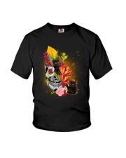 Black Cat Tropical 0706 Youth T-Shirt thumbnail