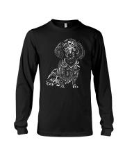 Dachshund Pattern 280218 Long Sleeve Tee thumbnail