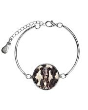 Greyhound Awesome 2104 Metallic Circle Bracelet thumbnail