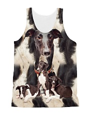Greyhound Awesome 2104 All-over Unisex Tank front