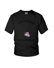 Hockey Love Woman 2104 Youth T-Shirt tile