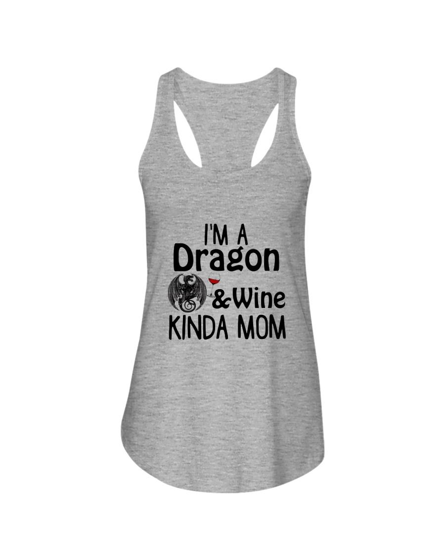 Dragon Kinda Mom 2304 Ladies Flowy Tank