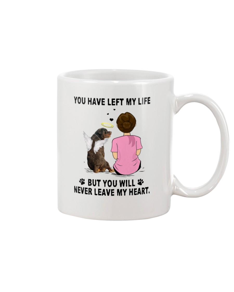 Rottweiler Never Leave My Heart 2305 Mug