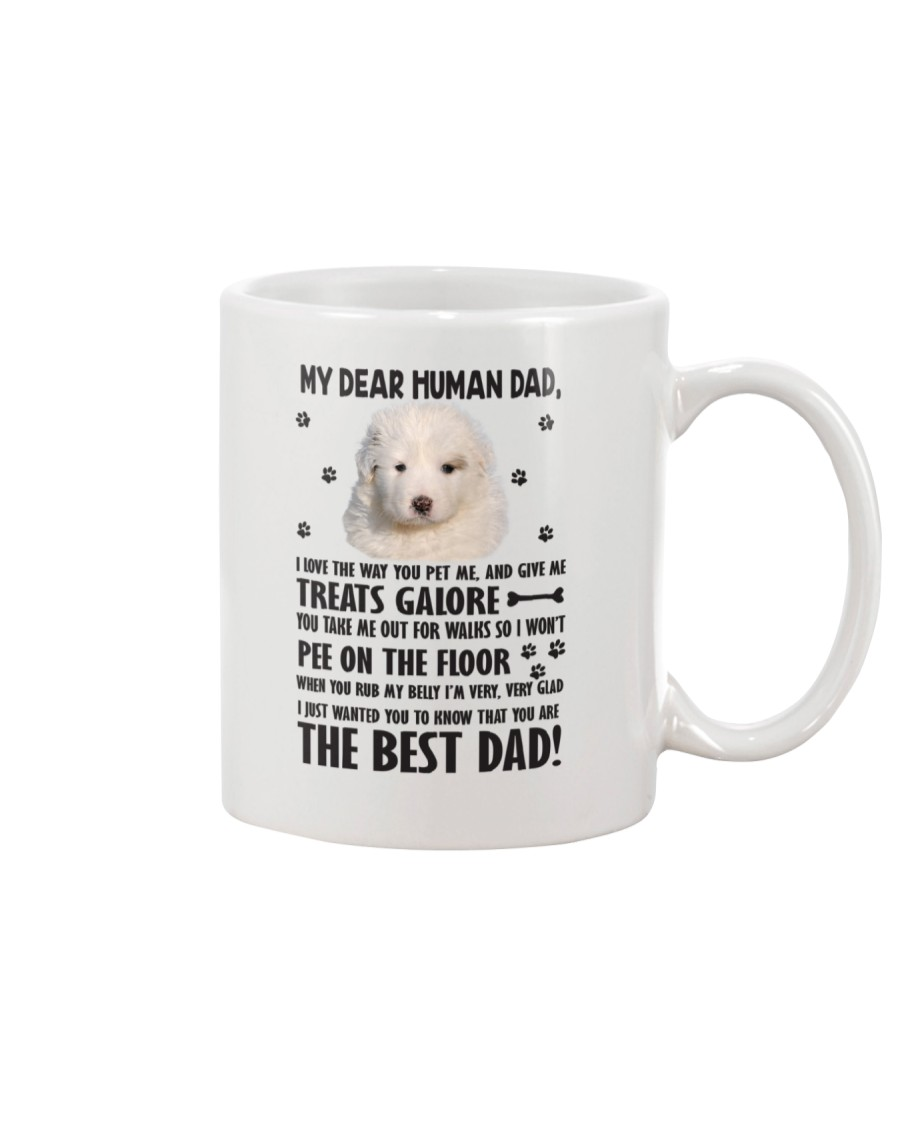 Great Pyrenees Human Dad 0206 Mug