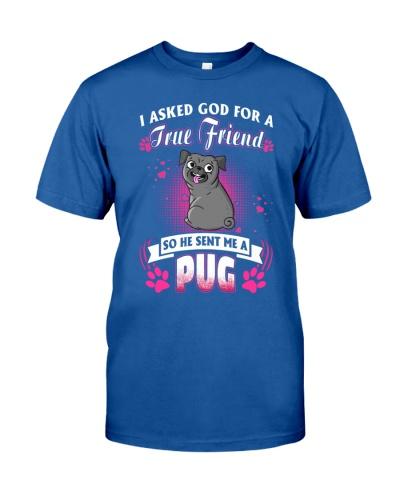 Pug True Friend