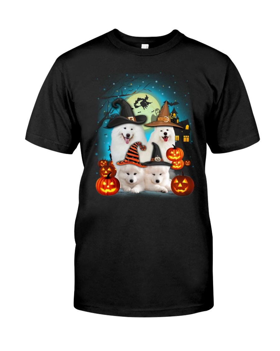 Gaea - Samoyed Halloween - 1608 - 50 Classic T-Shirt