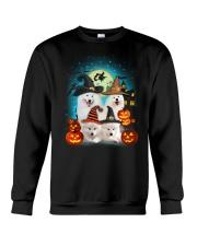 Gaea - Samoyed Halloween - 1608 - 50 Crewneck Sweatshirt thumbnail