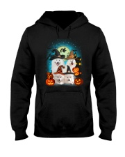 Gaea - Samoyed Halloween - 1608 - 50 Hooded Sweatshirt thumbnail