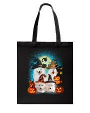 Gaea - Samoyed Halloween - 1608 - 50 Tote Bag thumbnail