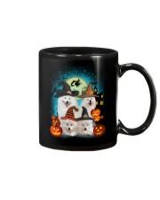 Gaea - Samoyed Halloween - 1608 - 50 Mug thumbnail