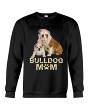 GAEA - Bulldog Busy Mom 1704 Crewneck Sweatshirt thumbnail