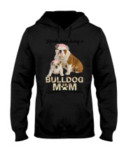 GAEA - Bulldog Busy Mom 1704 Hooded Sweatshirt thumbnail