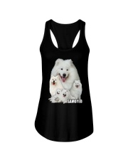 Samoyed Awesome 0506 Ladies Flowy Tank front
