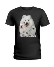 Samoyed Awesome 0506 Ladies T-Shirt thumbnail