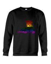 Rottweiler LGBT Crewneck Sweatshirt thumbnail