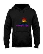 Rottweiler LGBT Hooded Sweatshirt thumbnail