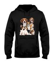 Beagle Five Hooded Sweatshirt thumbnail