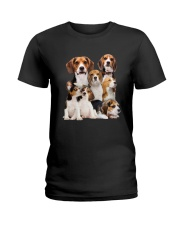 Beagle Five Ladies T-Shirt thumbnail