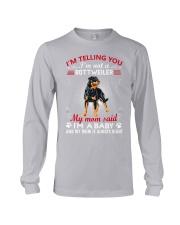 Rottweiler Telling Mom Long Sleeve Tee thumbnail