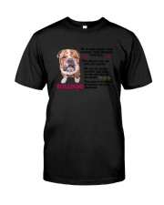 Bulldog Friends 0806 Classic T-Shirt thumbnail