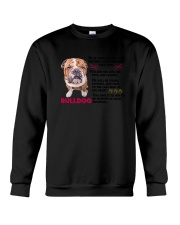 Bulldog Friends 0806 Crewneck Sweatshirt thumbnail