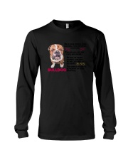 Bulldog Friends 0806 Long Sleeve Tee thumbnail