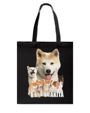 Akita Awesome Tote Bag thumbnail