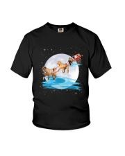 Shar Pei Santa Youth T-Shirt thumbnail