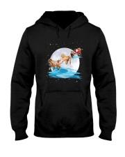 Shar Pei Santa Hooded Sweatshirt thumbnail