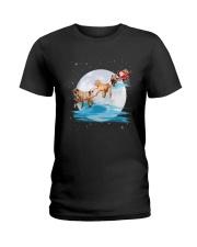 Shar Pei Santa Ladies T-Shirt thumbnail