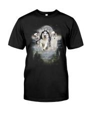 GAEA - Siberian Husky Moon 1604 Classic T-Shirt front