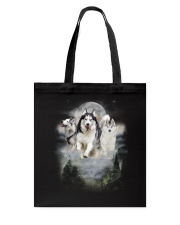 GAEA - Siberian Husky Moon 1604 Tote Bag thumbnail
