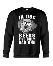 Golden Retriever Beer Crewneck Sweatshirt thumbnail