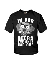 Golden Retriever Beer Youth T-Shirt thumbnail