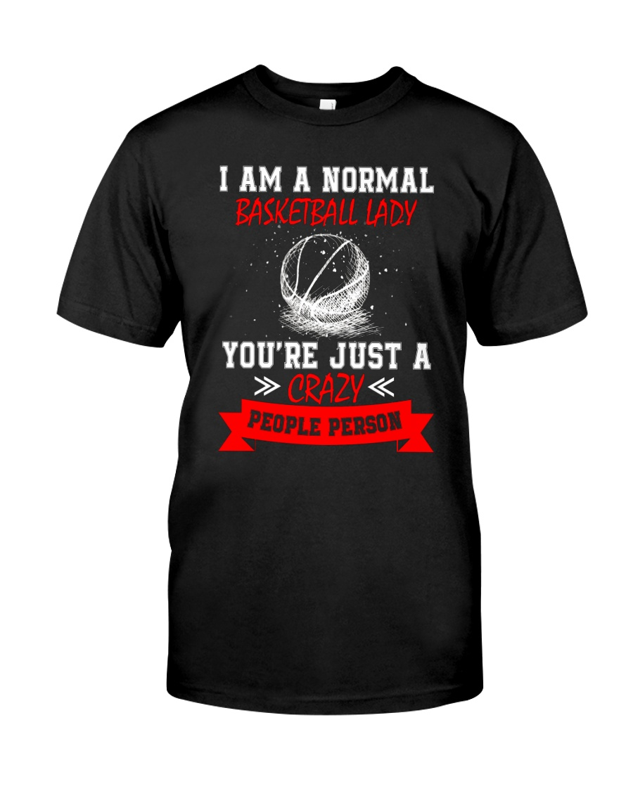 Basketball Lady 2304 Classic T-Shirt