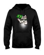 Siberian Husky BZ 3105 Hooded Sweatshirt tile